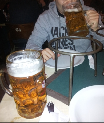 Jarra de cerveza en Pod Wawelem