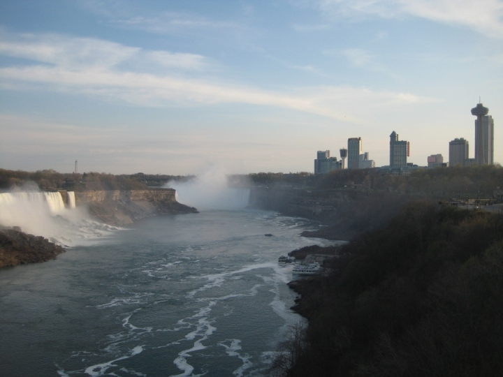 cataratas niagara desde Rainbow Bridge