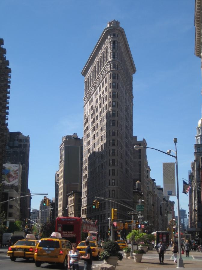 edificios_raros_Edificio Flat Iron - NYC