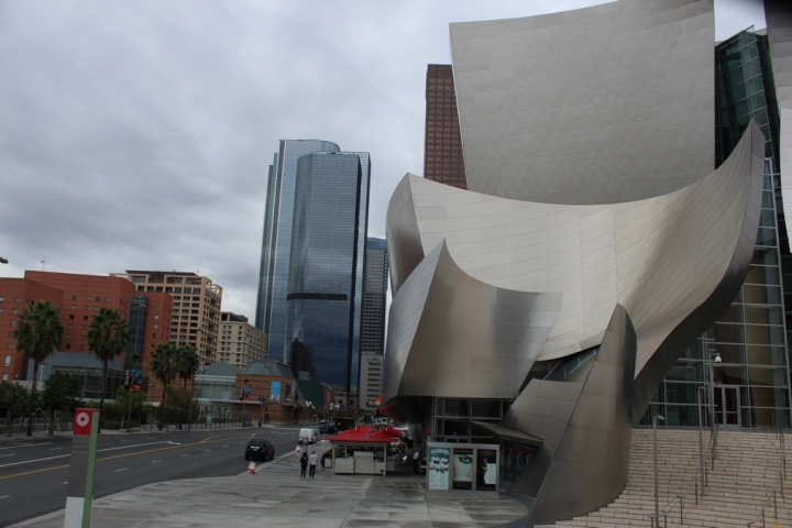 edificios_raros_Walt Disney Concert Hall