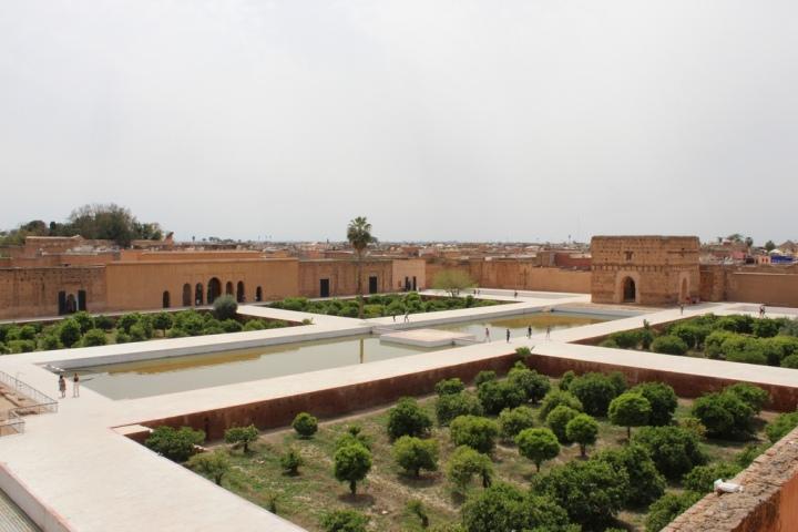 Vista desde la atalaya del palacio
