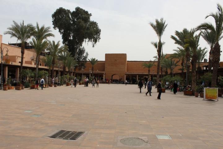 Plaza de los hojalateros en Marrakech